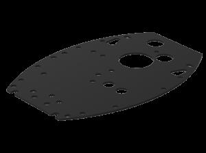 Основание  вертикального монтажа завесы Ballu BHC-DB2