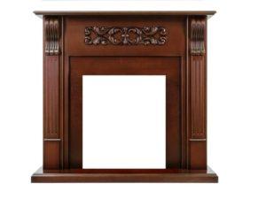 Портал Venice под классический очаг (Махагон коричневый антик)